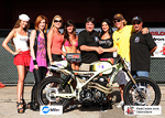 AFT Customs Grib Ace Best of Show winne LA Calendar Motorccyle Show