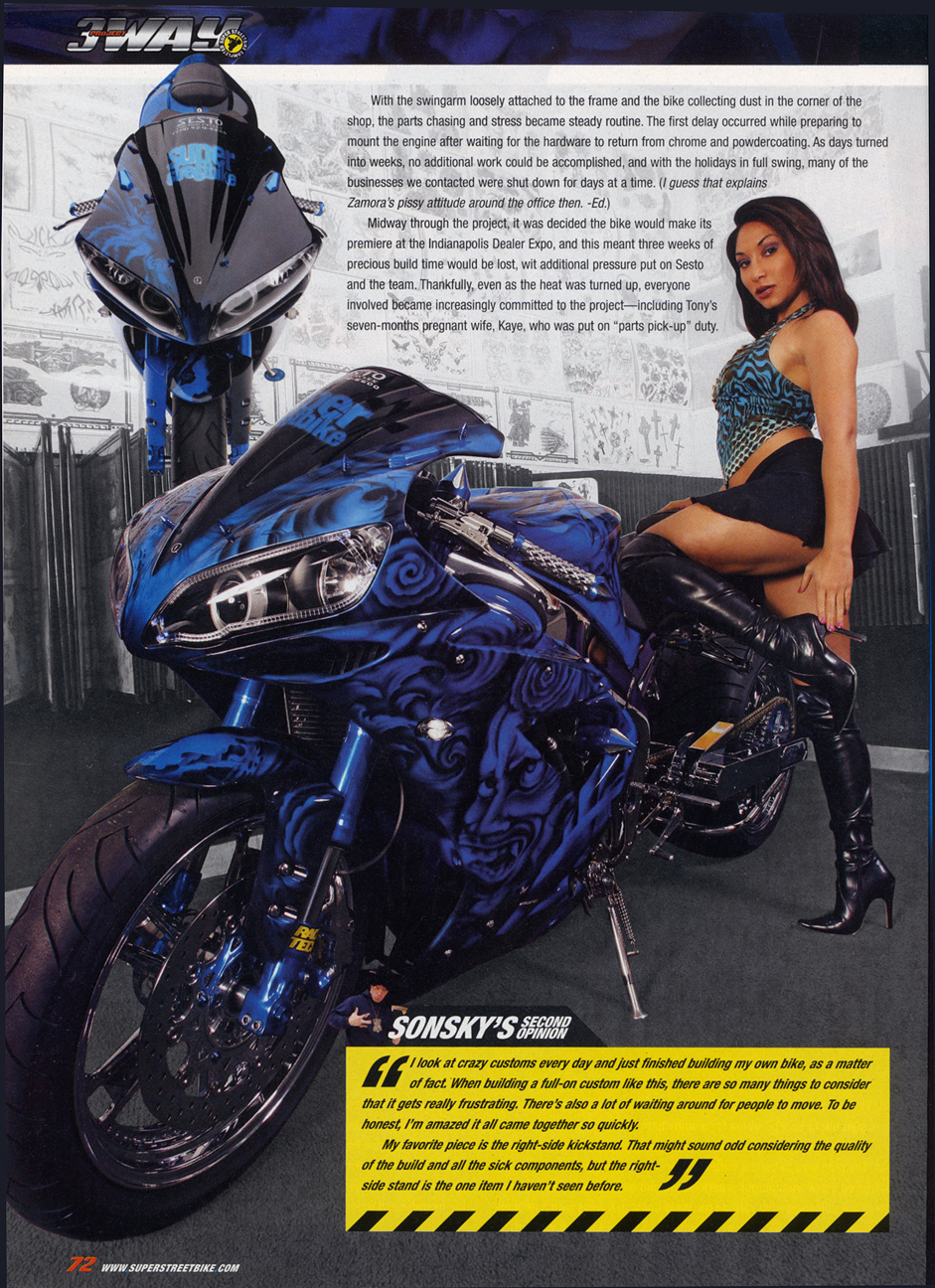 Gripace Digital Motorcycle Switches Magazine Feature Bikes