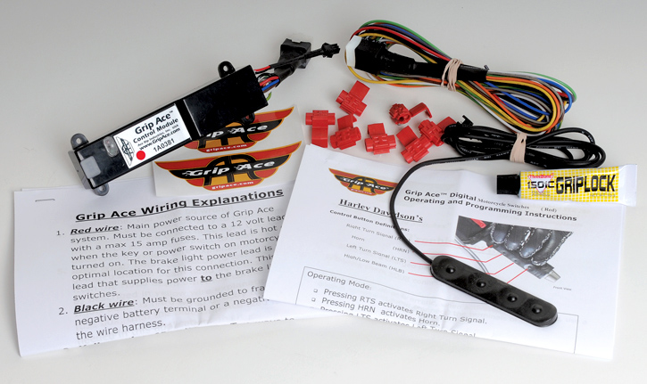 GripAce - Digital Switch Kit for Harley-Davidsons on